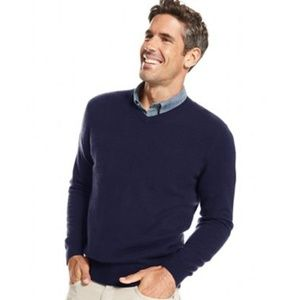 Club Room Cashmere V-Neck mens sweater XL